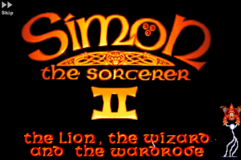 Screenshot Simon the Sorcerer 2: Il Leone, la procedura guidata e l'armadio