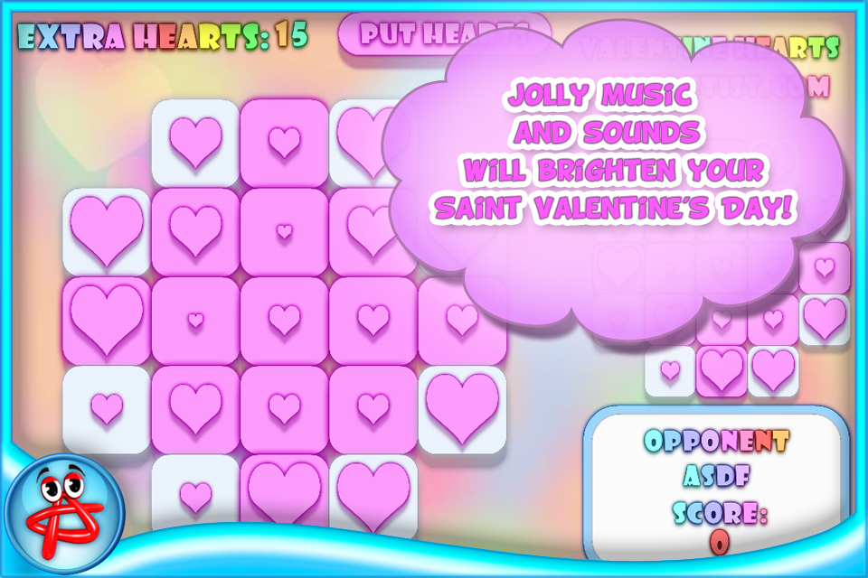 Screenshot Valentine Hearts: Match 3 Puzzle