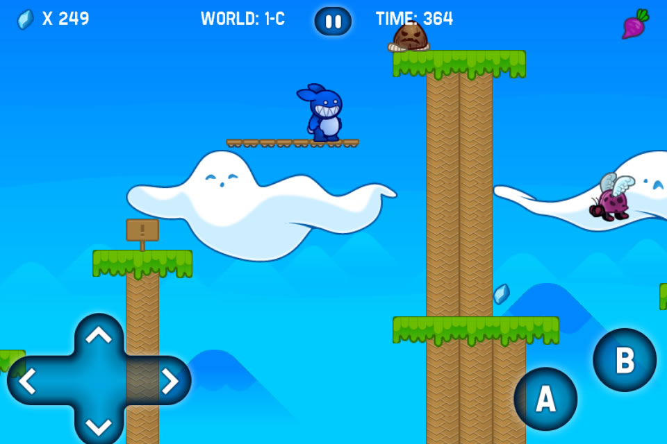 Screenshot Blue Rabbit's Worlds